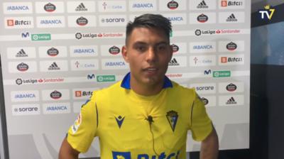Arzamendia, su primera experiencia en LaLiga y el debut con Cádiz