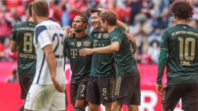 El Bayern Munich destroza 7-0 al Bochum y es líder de la Bundesliga