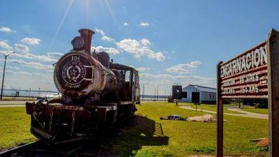Encarnación: Habilitarán museo ferroviario y puesta en valor de la locomotora 104