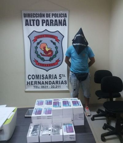 Atrapan a presunto estafador en Hernandarias