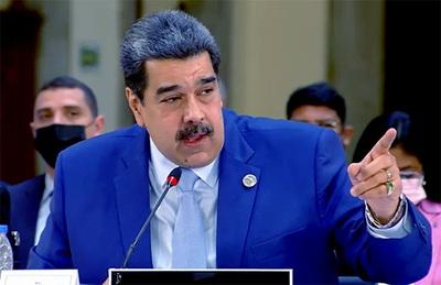 Nicolás Maduro desafió a Mario Abdo y a Luis Lacalle Pou en la cumbre de la CELAC (video)