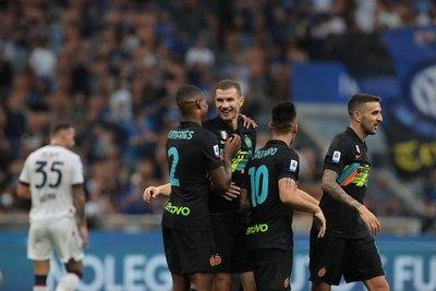 El Inter humilla al Bologna de Federico Santander en la Serie A