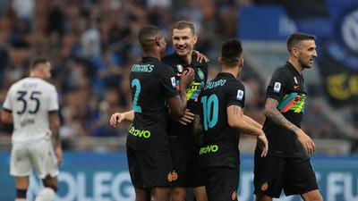 Inter se recupera con goleada ante el Bolonia