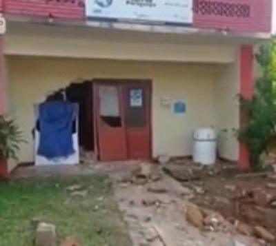 Militar atropella local del Correo en Paraguarí
