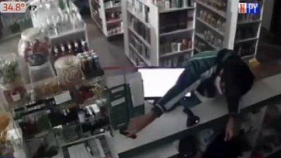 Niños roban farmacia en Itauguá