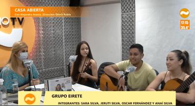 """Grupo Eirete y su melodiosa versión de """"Ne Rendápe Aju"""""""