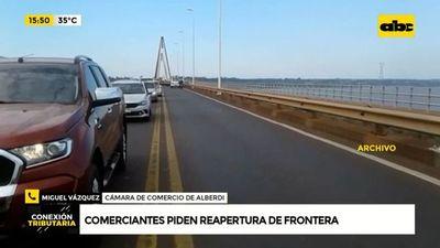 Comerciantes de Alberdi piden la reapertura de fronteras con Argentina