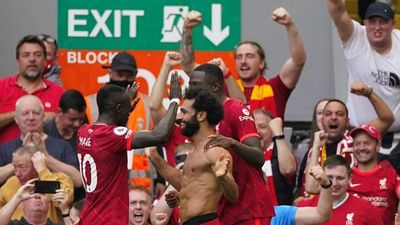 El Liverpool golea al Crystal Palace