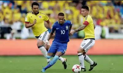 Colombia y Brasil empataron