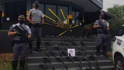 Paraguayo es detenido en Brasil con   armas de guerra