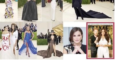 La Nación / La Gala del MET volvió con homenaje a la moda americana y Letizia y Harry, de cumple