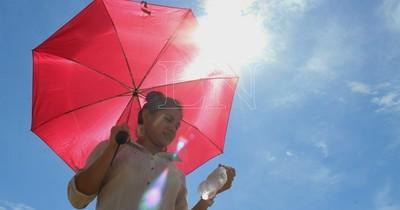 La Nación / Hoy domingo la temperatura superaría los 39°C