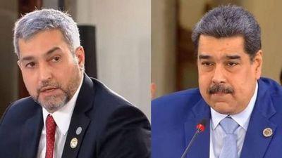 """Marito encaró a Nicolás Maduro y el venezolano le desafío a que """"ponga fecha"""""""