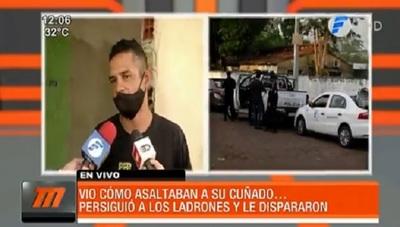 Malvivientes disparan y asaltan a motociclista en Ñemby