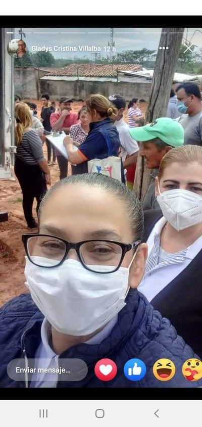 San Antonio: denuncian politización de ayuda a damnificados