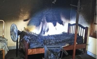 Queman parte de una estancia y roban víveres en Concepción