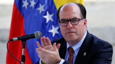 Opositor venezolano resalta postura de Abdo y Lacalle contra Maduro