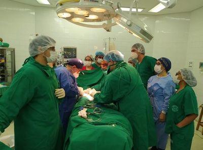 Trasplante renal con donante cadavérico es realizado en el Hospital de Clínicas