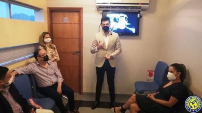 Inauguran remodelaciones en consultorio de Ginecología en Luque •
