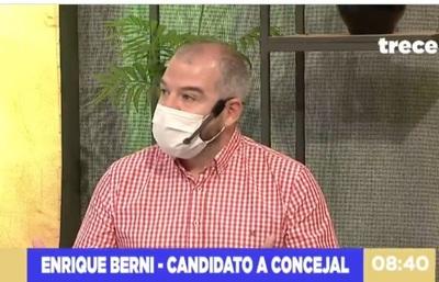 """Candidato a concejal busca transformar Asunción con Óscar """"Nenecho"""" Rodríguez"""