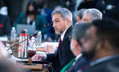 Repercusiones del Pte. Mario Abdo en la cumbre Celac