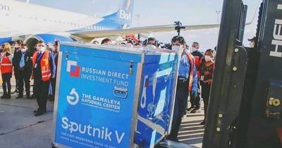 La Nación / Bolivia recibió lote de 370.000 vacunas Sputnik V para segunda dosis