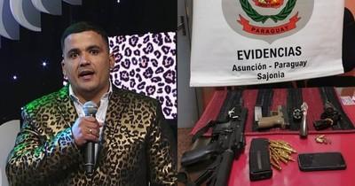 """La Nación / Detienen a abogado """"leopardo"""" con arma de guerra tras realizar disparos al aire"""
