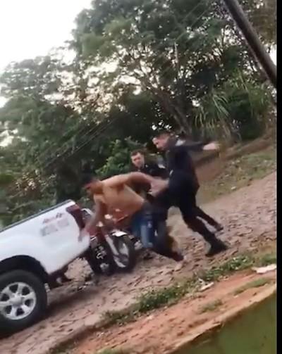 Blooper de Policías desnuda la falta de PREPARACION de los uniformados