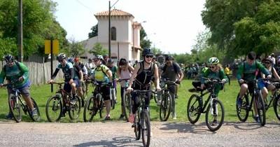 La Nación / Habilitan 1er tramo de la bicisenda más larga de Sudamérica