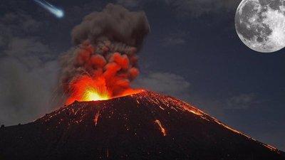 Impactantes imágenes de la erupción del volcán Cumbre Vieja en la isla española de La Palma (Videos+Fotos)