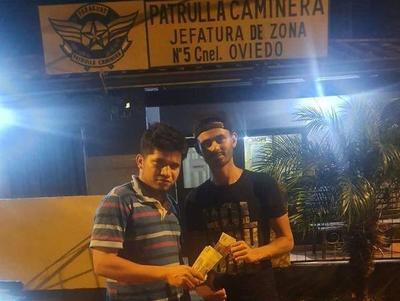 Coronel Oviedo; Jaka y Takumbo Revoque dieron positivo a alcotest y fueron multados por la Caminera – Prensa 5