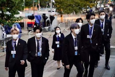 Los surcoreanos BTS promueven en la ONU las metas globales de desarrollo