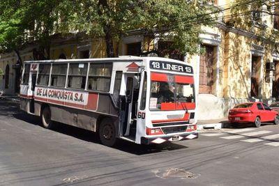 Transportistas amenazan con alzar precio del pasaje interno en Asunción desde este miércoles, si no reciben subsidio