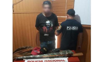 Recuperan arma de fuego y varios otros objetos denunciados como robados – Prensa 5