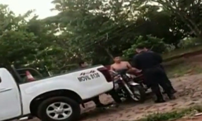 Ciudad del Este: Un hombre escapa de tres policías tras persecución y forcejeo