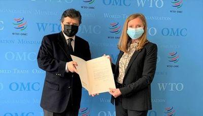 Paraguay oficializa una representación permanente ante la OMC