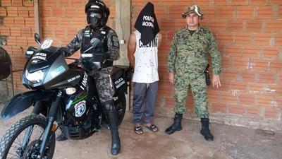 Linces detienen a joven que incumplió   arresto domiciliario