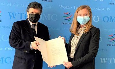 Acevedo comunicó interés paraguayo de abrir representación ante la OMC – Diario TNPRESS