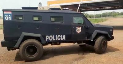 Devuelta seencuentra operativo el camión blindado de la policía
