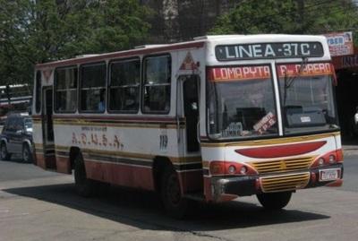 Transportistas de Asunción aguardan ser incluidos en el subsidio de pasaje