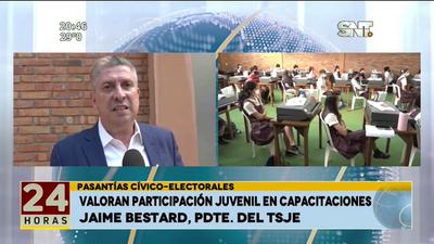 Pasantía cívico-electorales: Valoran participación juvenil en capacitaciones.