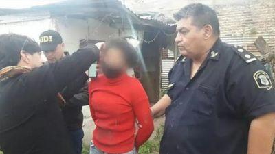Paraguaya quemó a su amiga e hijo porque salió con su ex