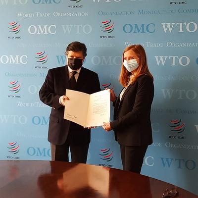 OMC: El canciller oficializa en Ginebra la próxima apertura de misión permanente