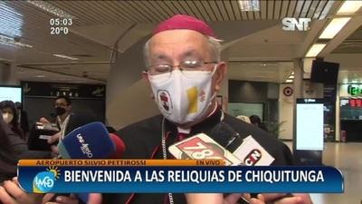 Las Reliquias de la Beata Chiquitunga ya están en Paraguay