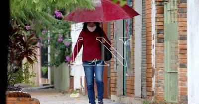 La Nación / Lluvias, tormentas y descenso de la temperatura para este martes