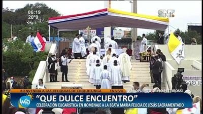 'Que dulce encuentro': Celebración eucarística en homenaje a Chiquitunga