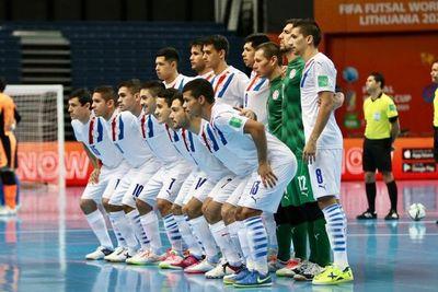 Paraguay clasificó a octavos en el Mundial de Futsal FIFA