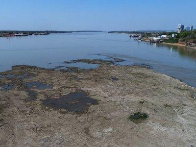 Río Paraguay alcanzaría de nuevo histórico bajo nivel 'o incluso peor', advierten