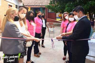 Inauguran mejoras de aulas en escuela de Isla Bogado •