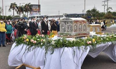 Reliquias de Chiquitunga volvieron a Paraguay – Prensa 5
